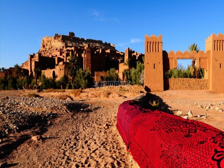穿越摩洛哥。