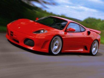 Ruta Ferrari F430 F1 por carretera durante 11 km