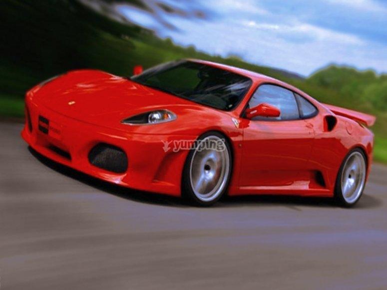 Prueba un Ferrari F430