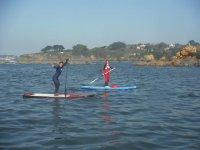 Paddle surf en la Coruña