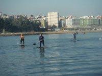 La Coruña de fondo
