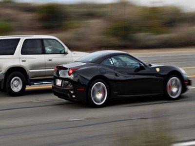 Conducir un Ferrari por carretera 50 KM, Barcelona