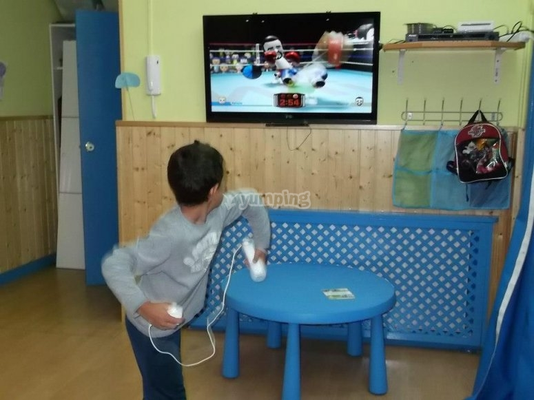 Playing Wii games