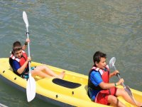 Canoe e bambini