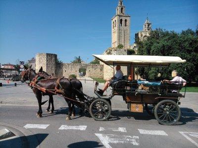 Itinerario di trasporto ai piedi di Montserrat 2-3 h.