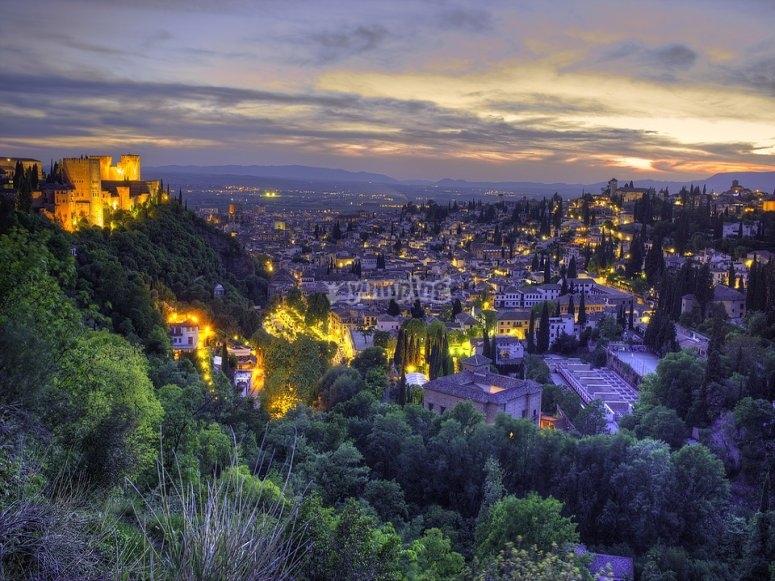 Granada en la noche