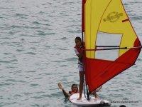 Inizio del windsurf