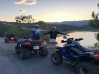 Quad route for groups of 2 hours in Salou