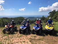 Departure in the mountains of Salou