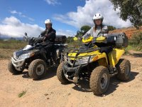 Excursion in mountain quad of Salou 2 hours