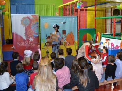 Cumpleaños en parque infantil, menú y regalo