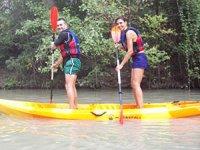 Paddle surf en el río