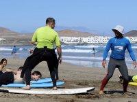 Insegnamento individuale del surf