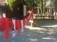 Campamento en Navarra