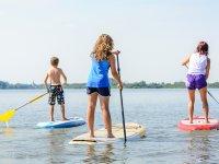 Paddle surf en el lago