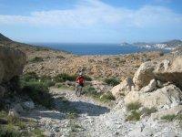 地形旅游观光自行车路线