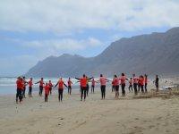 Pack 3 días de surf y 7 noches, Caleta de Famara