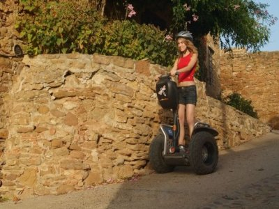 Segway Route in Garrotxa Natural Park