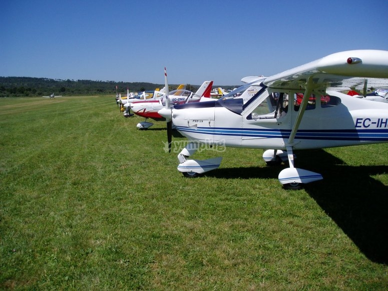 Fly a light aircraft