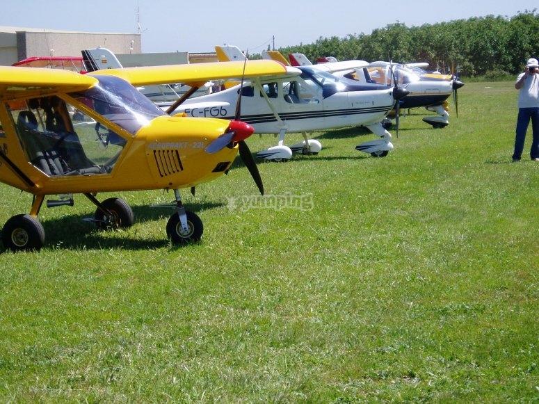 我们的飞机