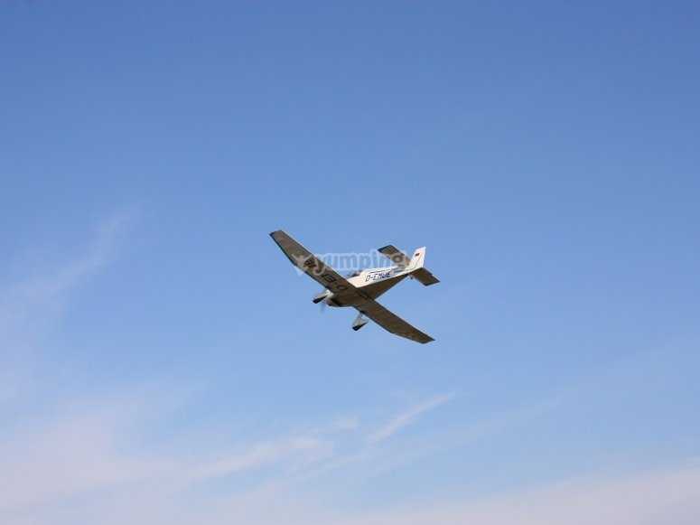 Fly an aircraft in Sabadell