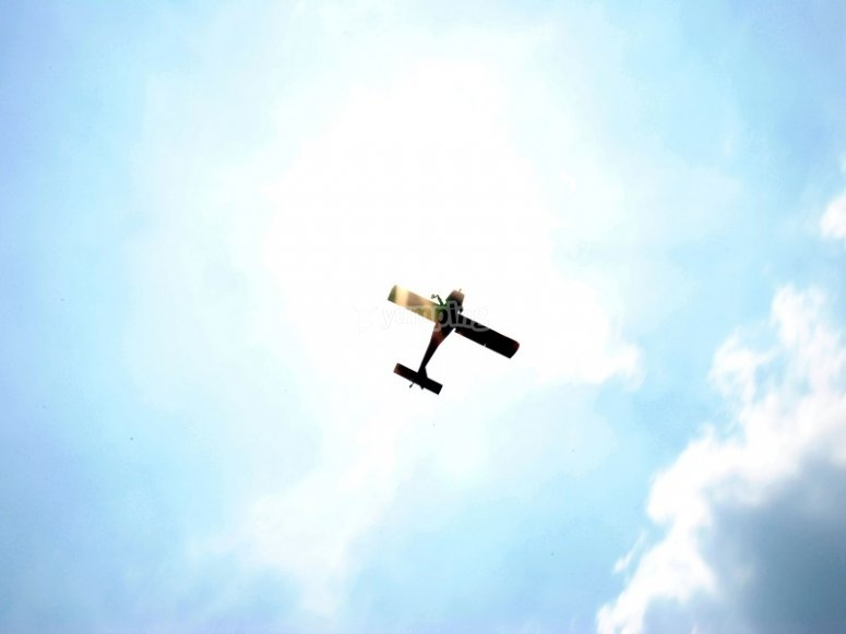 Vuelo acrobatico desde Sabadell