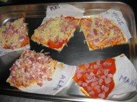 Pizzas de alumnos