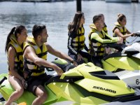 About jet skis in the port