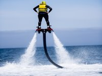 Balance on the flyboard