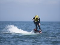 On the water with the flyboard