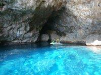 乘坐摩托艇穿越Formentor