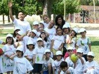 Nuestros alumnos de campamento