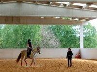 Horse riding lessons of Coruna