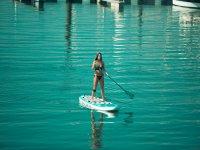 桨冲浪旁边希洪港口