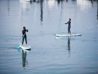 SUP route in Gijon