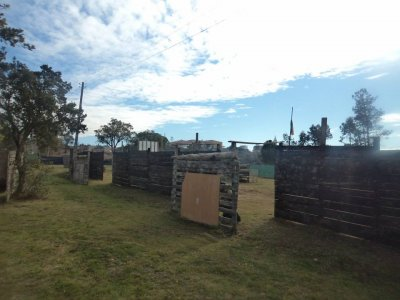 Pack paintball 100 bolas + barbacoa, Castellar