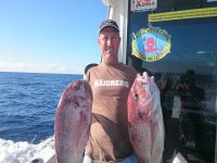 Pescador grandes peces