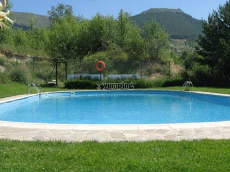 我们的游泳池