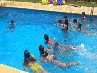 Juego piscina