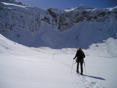 Raquetas de nieve por Parque Natural de Sorteny