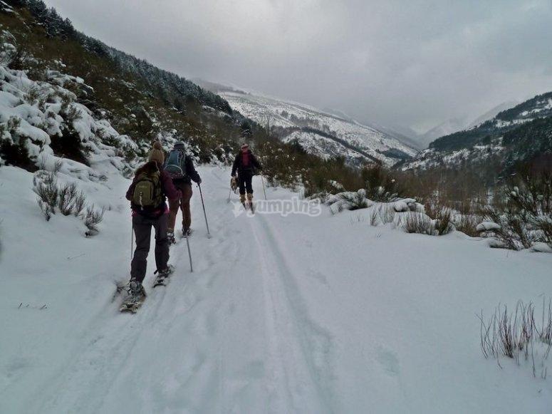 Escursione con le ciaspole