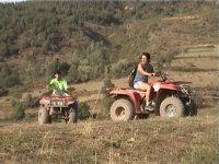 ATV quad route