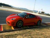 Ferrari en circuito