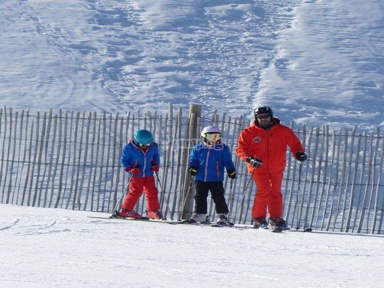 Clase particular de esqui La Molina
