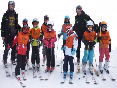 Groupal ski class for children in La Molina 3 h