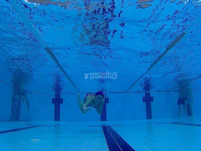 Disfruta de nuestra piscina
