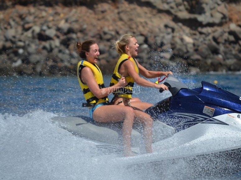 Moto de agua en Gran Canaria