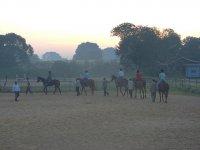 Iniciándose a la equitacion