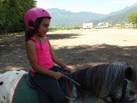 Salita della Chiquitina nel pony