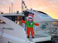 Mascota en la embarcacion